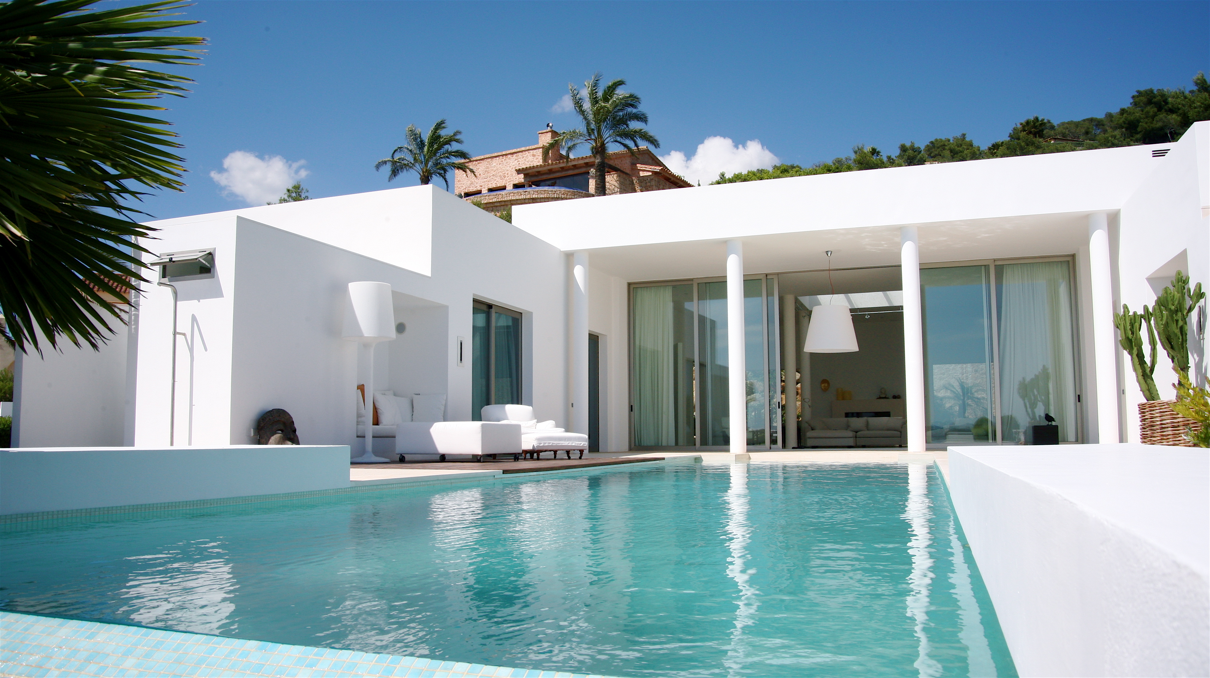 Ibiza Luxury House For Sale Overlooking Dalt Vila, Formentera And Ibiza  Town With Sea Views