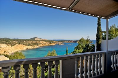 Semi detached house for sale with amazing sea views in Vista Alegre, Ibiza