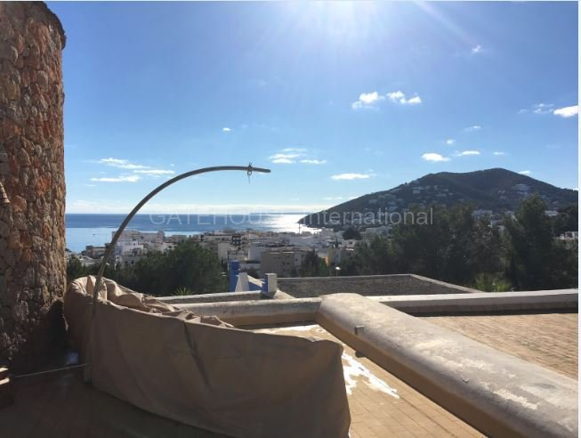 Ibiza Sea view home for sale in Santa Eularia