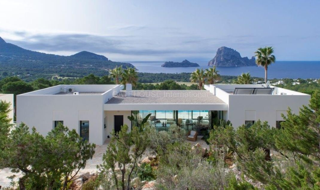 Modern designed home with Es Vedra views