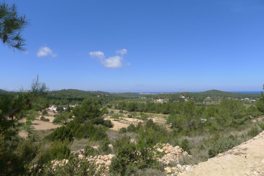 New build villa for sale Sant Josep de sa Talaia with direct sunset views