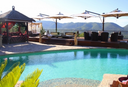 Luxury villa with 180 degree views over sea and Morna Valley_7