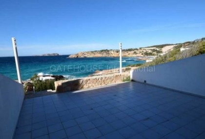 Townhouse for sale in Cala Tarida first line to the sea_3