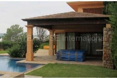 Property with pool and heliport in Talamanca_s - Copy