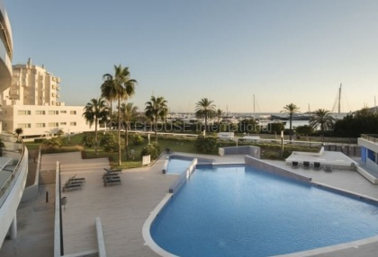 frontline apartment for sale in the marina close to Ibiza Town_2