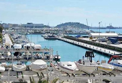 Beautiful sea view apartment for sale with views to the Old Town Ibiza 2