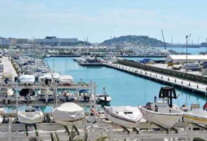 Beautiful sea view apartment for sale with views to the Old Town Ibiza