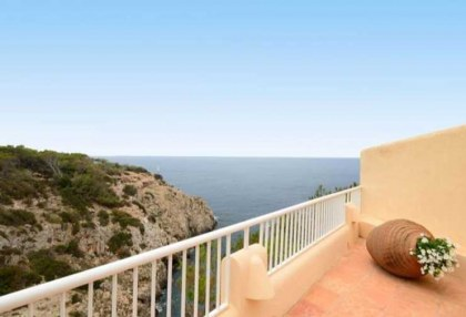 First line to sea villa for sale Cala Vadella Ibiza 3