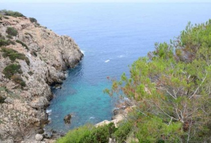 First line to sea villa for sale Cala Vadella Ibiza 4
