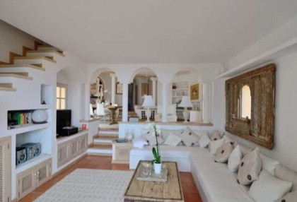 First line to sea villa for sale Cala Vadella Ibiza 7