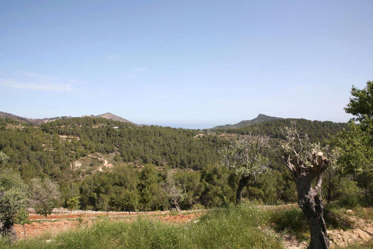 beautiful old finca for sale san juan ibiza with views over hills sea ibiza properties for sale. Black Bedroom Furniture Sets. Home Design Ideas