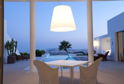 Ibiza luxury house for sale overlooking Dalt Vila, Formentera and Ibiza town with sea views 2