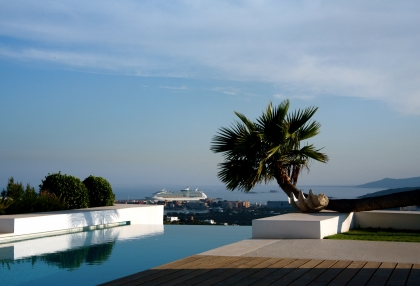 Ibiza luxury house for sale overlooking Dalt Vila, Formentera and Ibiza town with sea views 5