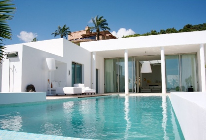 Ibiza luxury house for sale overlooking Dalt Vila, Formentera and Ibiza town with sea views 7a