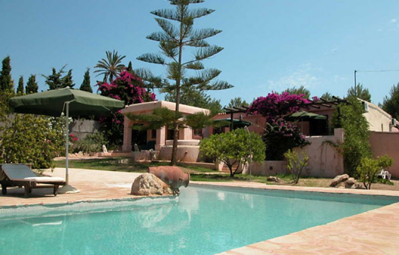 Charming 4 bedroom house for sale, located in Can Furnet, Ibiza with countryside views