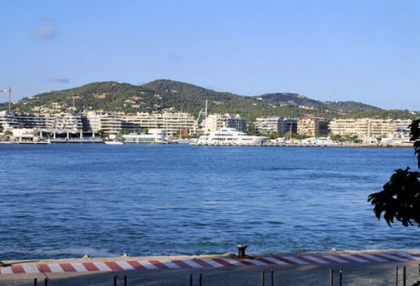 Ibiza town Dalt Vila studio apartment for sale with harbour views 1