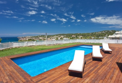 Semi-detached sea views house for sale Cala Tarida San Jose Ibiza 2
