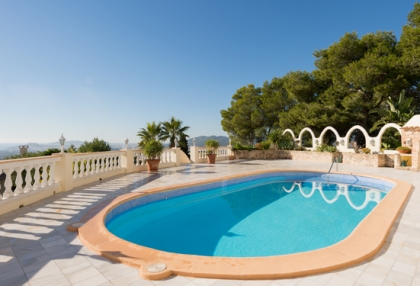 Classic sea view villa for sale Can Furnet Santa Eularia Ibiza 5