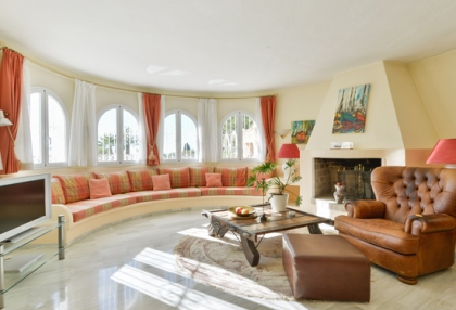 Classic sea view villa for sale Can Furnet Santa Eularia Ibiza 7