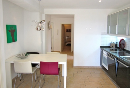 Modern 2 bedroom apartment for sale with sea views Cala Bassa Sant Josep Ibiza 3