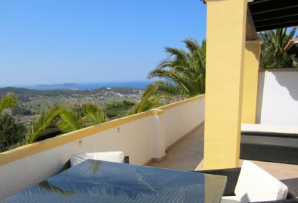 Modern 2 bedroom apartment for sale with sea views Cala Bassa Sant Josep Ibiza 4