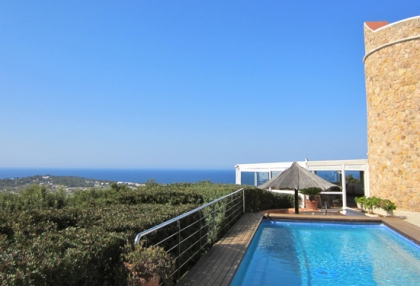 Modern 2 bedroom apartment for sale with sea views Cala Bassa Sant Josep Ibiza 5