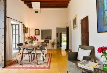 Ibiza country estate for sale with restored old finca 1