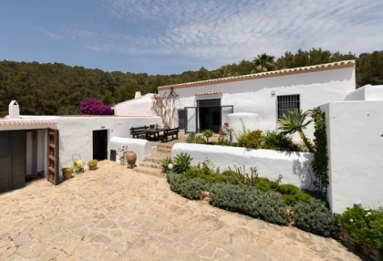 Ibiza country estate for sale with restored old finca 10
