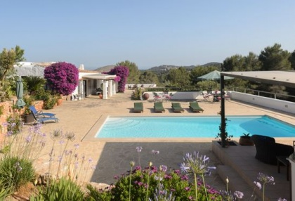 Ibiza country estate for sale with restored old finca 12