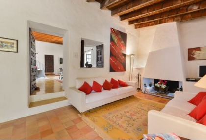 Ibiza country estate for sale with restored old finca 2