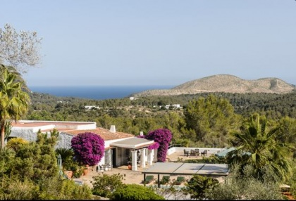 Ibiza country estate for sale with restored old finca 9