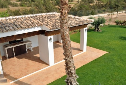 5 bedroom country villa with paddocks and stables San Agustin Ibiza 22
