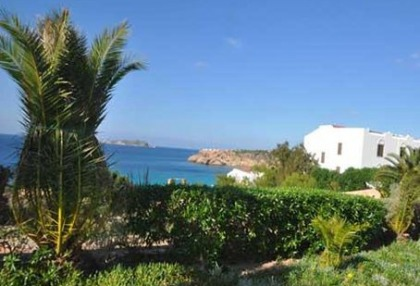 Charming 3 bedroom villa for sale seafront Cala Tarida San Jose Ibiza 1