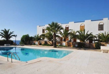 Charming 3 bedroom villa for sale seafront Cala Tarida San Jose Ibiza 3