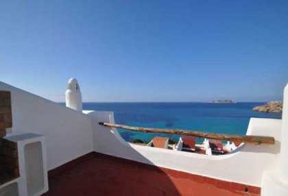 Charming 3 bedroom villa for sale seafront Cala Tarida San Jose Ibiza 7