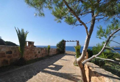 Charming 3 bedroom villa for sale seafront Cala Tarida San Jose Ibiza 8