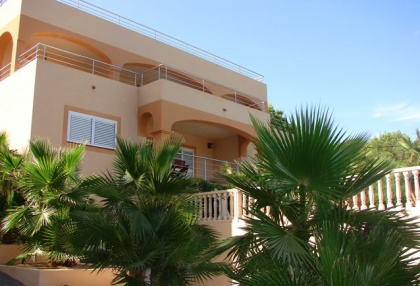 Immaculate 4 bedroom sea view villa for sale San Jose Ibiza 1