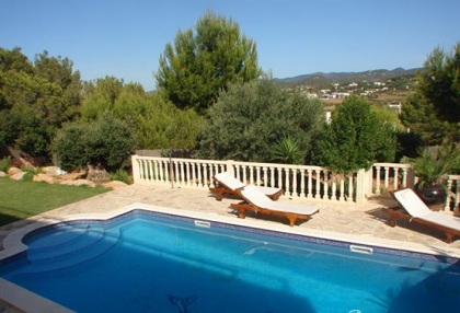 Immaculate 4 bedroom sea view villa for sale San Jose Ibiza 2