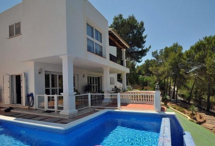 5 bedroom modern villa for sale San Agustin San Jose Ibiza 1