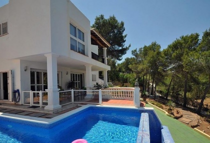 5 bedroom modern villa for sale San Agustin San Jose Ibiza 2