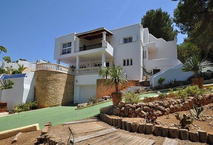 5 bedroom modern villa for sale San Agustin San Jose Ibiza 24