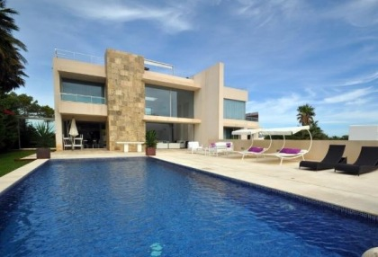 Modern 4 bedroom sea view villa for sale San Jose close to beaches 1