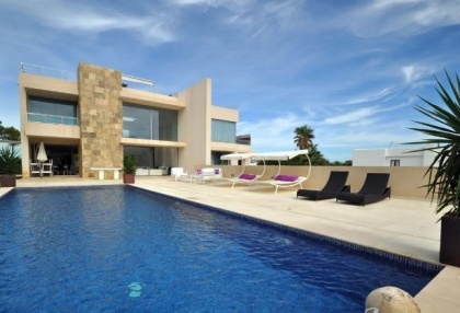 Modern 4 bedroom sea view villa for sale San Jose close to beaches 2
