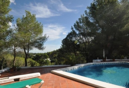 3 bedroom finca for sale Santa Eularia Ibiza with countryside views 4