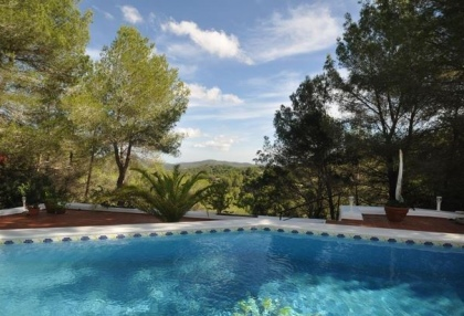 3 bedroom finca for sale Santa Eularia Ibiza with countryside views 5
