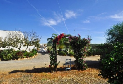 Cottage style holiday home for sale Santa Gertrudis Ibiza countryside views 14