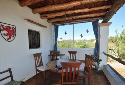 Cottage style holiday home for sale Santa Gertrudis Ibiza countryside views 5