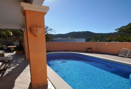 Cala tarida villa with guesthouse for sale sea & sunset views 1