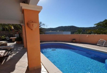 Cala tarida villa with guesthouse for sale sea & sunset views 2