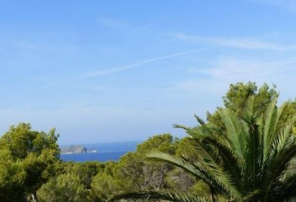 Cala tarida villa with guesthouse for sale sea & sunset views 4